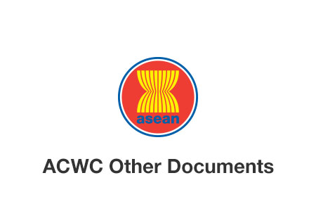 The ASEAN Commission on the Promotion and Protection of the Rights of Women and Children (ACWC) Work Plan (2012-2016) and Rules of Procedures (ROP)